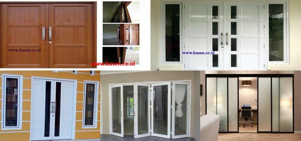 Jual Aneka Pintu Dan Kusen Alumunium Tangerang